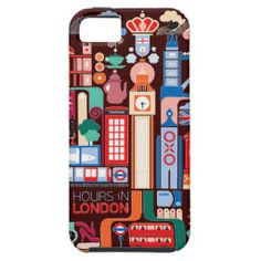 Travel in London 3 iPhone 5 Covers  $47.95 per case