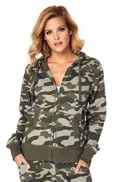 Mega fede Happy Holly Sweatshirtjakke Cilla Kamuflage Happy Holly Overdele til Outlet i lækker kvalitet