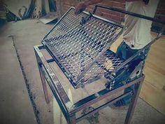 Barbecue Grill, Barbeque Design, Diy Grill, Grill Design, Backyard Bbq Pit, Tv Stand Furniture, Steel Gate Design, Metal Grill, Brick Bbq