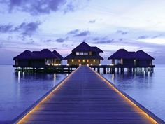 Romantic escape in the Maldives