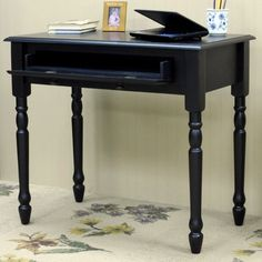 Carolina Cottage Bella 1 Drawer Writing Desk & Reviews | Wayfair.ca