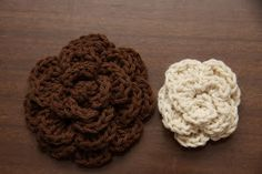 2 Crazy 4 Crafting: Crochet Hair Accessories