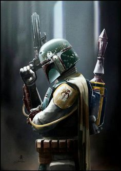 Bobba Fett is awesome.