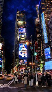 世界の風景 ニューヨーク タイムズスクエアの夜景 おすすめスマホ壁紙 タイムズスクエア 風景 壁紙
