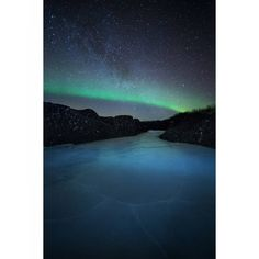 aurora borealis northern Lights over iceland