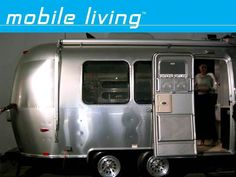 For all you modern-design-loving, wanderlusting nomads, Airstream's Bambi trailer may be just the ticket. The 75-year old company has long been known for their sleekly-designed, fully-loaded travel trailers, and the Bambi is no exception. One of the smallest