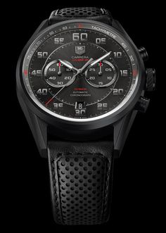 """Baselworld 2013: TAG Heuer Carrera Calibre 36 Chronograph """"Racing"""" with El Primero 