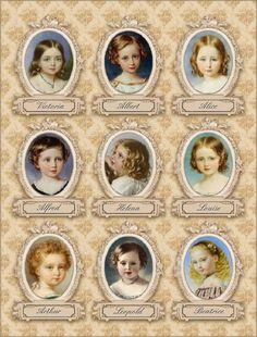 Queen Victoria's children.
