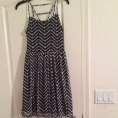 For Sale: Xhileration Chevron Dress for $5