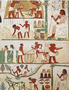 Figura representando a Sociedade Egipcia