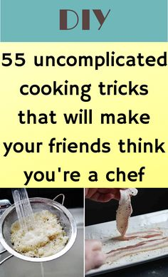 Hacks Diy, Food Hacks, Cooking Hacks, Food Tips, Kitchen Games, Kitchen Tips, Life Hacks Home, Le Chef, Baking Tips