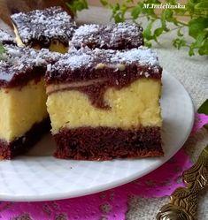 Domowa Cukierenka : Izaura- sernik na murzynku Cheesecake, Baking, Blog, Recipes, Cakes, Cooking, Cake Makers, Cheesecakes, Bakken