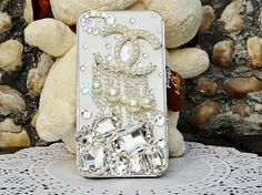 Fashion Chanel  diy phone cases decoden kit  for DIY Chanel Mobile Phone Case ( 2 color available)