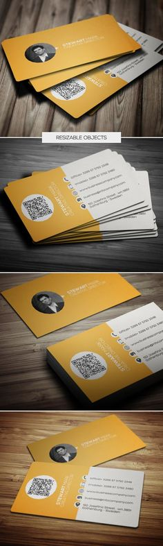 Business Cards Design Des exemples créatifs de cartes de visite. #print