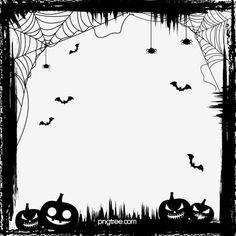 Halloween Borders, Halloween Frames, Halloween Vector, Halloween Items, Free Vector Graphics, Vector Art, Halloween Imagem, Pumpkin Wallpaper, Printable Frames