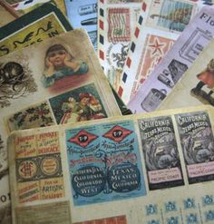 10 sheets (1 bag) DIY Florastudio Vintage Retro Lomo Stickers Paper for Decoration Scrapbook Korean Stationery Free shipping 932 #Affiliate