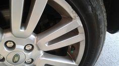 Before refinishing wheel
