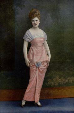 1914 - Robe du soir-Maison Bernard -