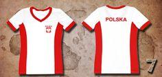 Damska koszulka wspomagająca piłkarzy - wzór 7.