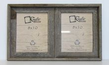 8x10 Reclaimed Wood Double Frame