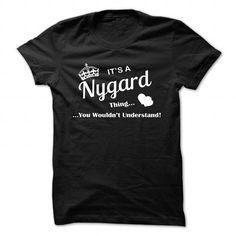 cool NYGARD name on t shirt