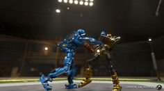 Voice of Steel: Building Robot Fighting Game in Russia