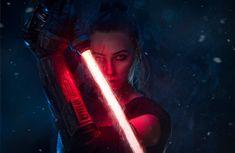 Dark Rey cosplay by EnotArt