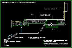Planos de Acometida provision de agua potable, en Red provis