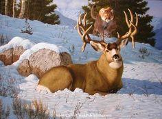 Original and Prints of Wildlife Art, Nature and Animal Art of Tom and Manuel Mansanarez