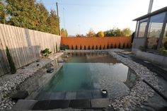 This one Reddit user decided to build a swimming pond (note: not swimming pool) in his backyard -- all in a DIY way! For those of you who don't know, a swimming pond isn't just any old pond. It is a natural pond completely chemical-free that uses biological filters and plants to circulate and clean the water.