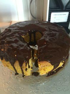 Carrot cake whit chocolate