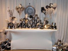 New Year Eve Wedding Favor Display (great job Andy Hopper with KG Designs)