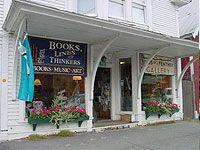 Great bookstore in Rangeley.