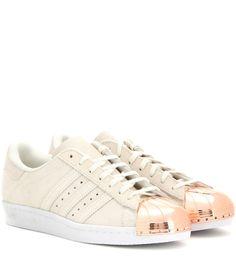 Adidas Metal Toe Sneakers #metallic #metaltoe #shoelust
