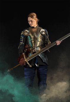 Andro Women in Armor: Photo