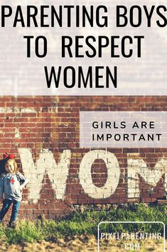 Raising Boys to respect girls and women is important for their social growth. Parenting your boys to know girls are important. Parenting Toddlers, Parenting Styles, Parenting Books, Gentle Parenting, Parenting Advice, Preschool Behavior, Toddler Behavior, Respect Girls, Stay At Home Dad