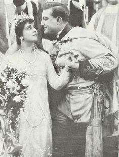 """Scene from """"Under Royal Patronage"""" Hooray For Hollywood, Elegant Bride, Silent Film, Poster, Vintage, Art, Patronage, Art Background, Kunst"""