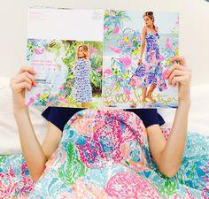 lazy saturday reading the lilly catalog.