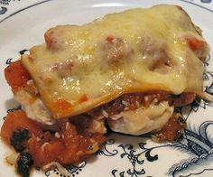 GRILLED CHICKEN CUTLETS PARMIGIANA - Linda's Low Carb Menus & Recipes
