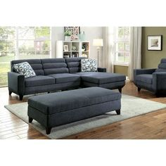 A&J Homes Studio Jensen Sectional Sofa