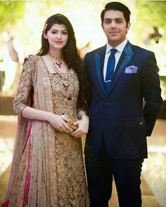 Beautiful Couple Gohar Mumtaz and Anum Gohar in a Recent Wedding!