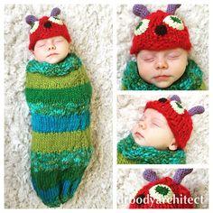 Snug as a bug in a rug 'my hungry caterpillar' thanks nanna X