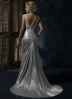 Back of my absolute dream wedding dress by Maggie Sottero