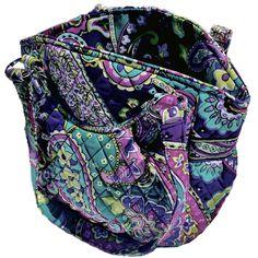 Vera Bradley Tote (NWT Retired Heather Print Glenna Shoulder Bag) RETAILS AT $90 #VeraBradley #TotesShoppers
