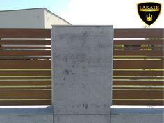 Alu Fence Mix Modern Fence, Dom, Fences, Concrete, Stairs, Patterns, Architecture, Home Decor, Picket Fences