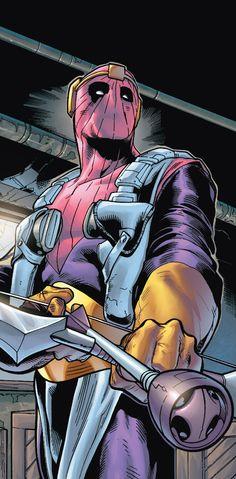 Baron Zemo by Scott Hanna * Marvel Comics, nemesis of Captain America.