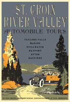 St. Croix River Valley Poster