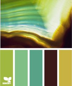 Design Seeds - Agate hues - Paint Ideas for the home! Hue Color, Colour Pallette, Color Palate, Colour Schemes, Color Combos, Color Patterns, Design Seeds, All Nature, World Of Color