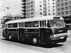 '1959-73 Ikarus 66 Bus Coach, Bus Driver, Busses, Commercial Vehicle, Budapest, Old Photos, The Past, Places To Visit, Trucks