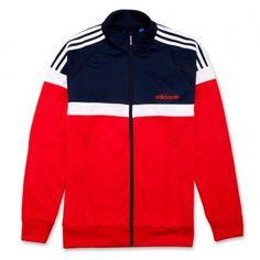 adidas Itasca Track Jacket-Red
